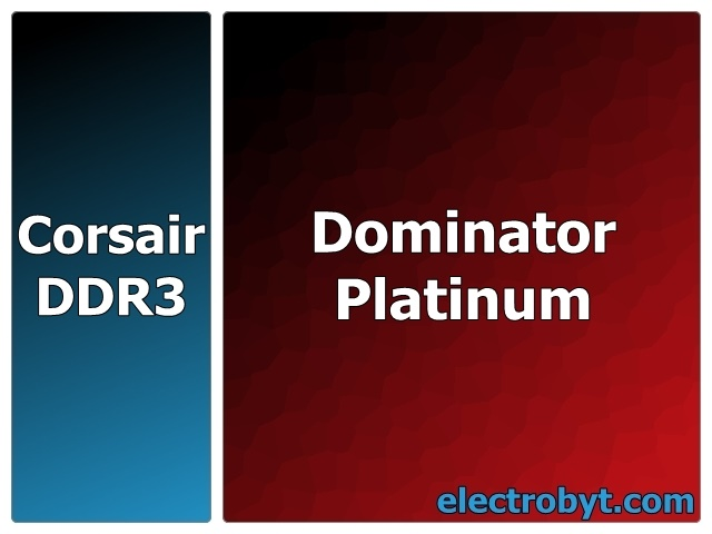 Corsair Dominator Platinum CMD64GX3M8A2400C10 PC3-19200 64GB (8 x 8GB Kit) 240pin DIMM Desktop Non-ECC DDR3 Memory Full Technical Specs and Reviews