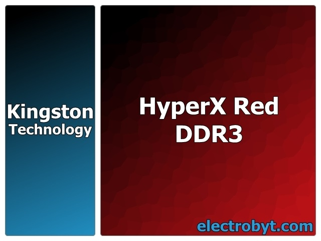 Kingston KHX13C9B1RK2/4 4GB (2 x 2GB Kit) PC3-10600 1333MHz HyperX Red 240pin DIMM Desktop Non-ECC DDR3 Memory Full Technical Specs and Reviews