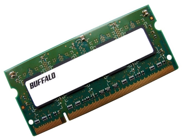 Buffalo A2/N667-1G 1GB PC2-5300 667MHz 200pin Laptop / Notebook Non-ECC SODIMM CL5 1.8V DDR2 Memory Full Technical Specs and Reviews