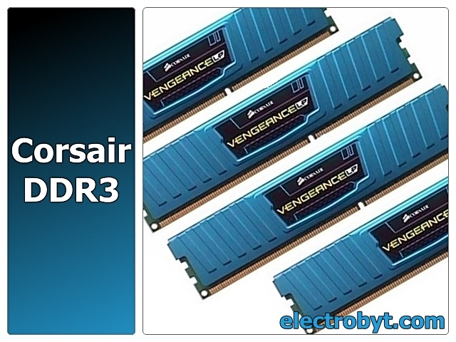 Corsair Vengeance Low Profile CML16GX3M4A1866C9B PC3-15000 16GB (4 x 4GB Dual Channel Kit) 240pin DIMM Desktop Non-ECC DDR3 Memory Full Technical Specs and Reviews