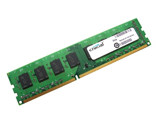 Crucial CT25664BA1067 2GB PC3-8500U 1066MHz 240pin DIMM Desktop Non-ECC DDR3 Memory Full Technical Specs, Benchmarks and Reviews