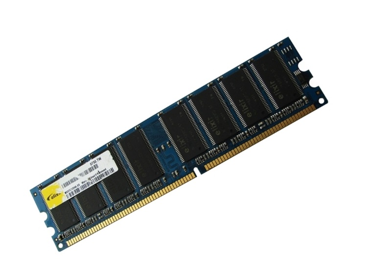 Elixir M1U25664DS88B3G-5T PC3200U-30331 256MB PC3200 DDR Memory Full Technical Specs and Reviews