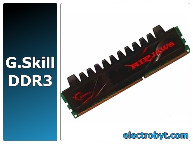 G.Skill F3-12800CL8T-12GBRM PC3-12800 1600MHz 12GB (3 x 4GB Kit) XMP Ripjaws 240pin DIMM Desktop Non-ECC DDR3 Memory Full Technical Specs and Reviews