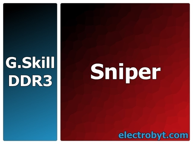 G.Skill F3-12800CL9T-12GBSR2 PC3-12800 1600MHz 12GB (3 x 4GB Kit) XMP Sniper 240pin DIMM Desktop Non-ECC DDR3 Memory Full Technical Specs and Reviews