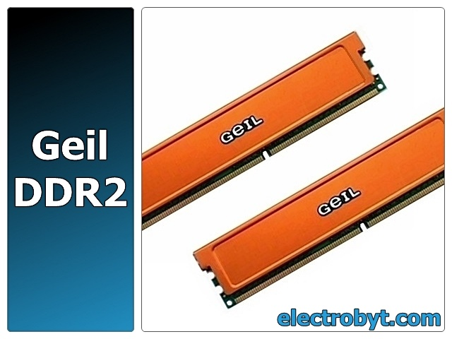 Geil GX21GB9280PDC PC2-9280 1GB Dual Channel Kit (2 x 512MB) 240-pin DIMM, Non-ECC DDR2 Desktop Memory Full Technical Specs and Reviews