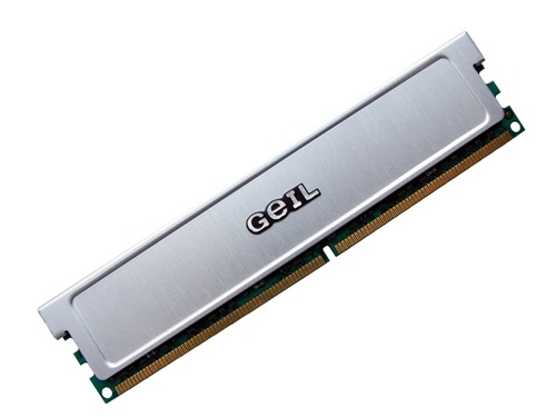Geil GX25124300DC PC2-4300 512MB Dual Channel Kit (2 x 256MB) 240-pin DIMM, Non-ECC DDR2 Desktop Memory Full Technical Specs and Reviews