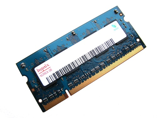 Hynix HMP112S6EFR6C-S6 1GB PC2-6400-666-12 800MHz 2Rx16 200pin Laptop / Notebook Non-ECC SODIMM CL6 1.8V DDR2 Memory Full Technical Specs and Reviews