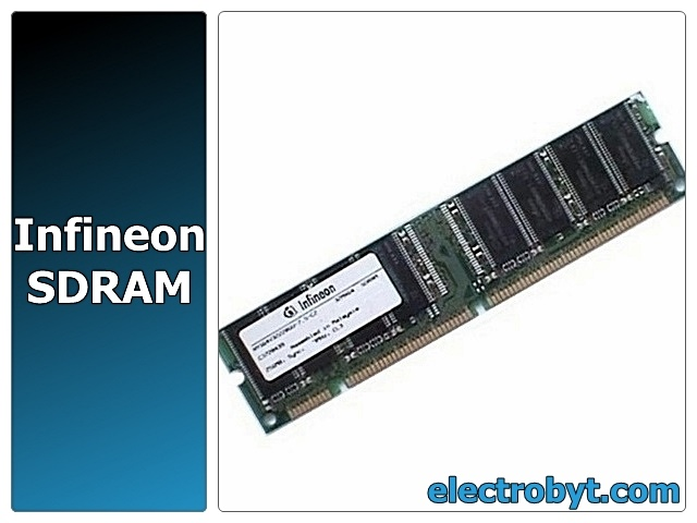 Infineon HYS64V32300GU PC100-222-620 256MB SDRAM PC100 Memory Full Technical Specs and Reviews