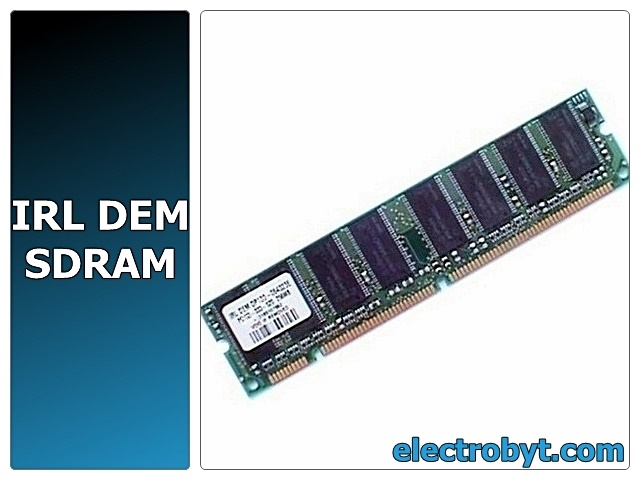 IRL DEM DP133-064323E PC133-333-520 256MB CL3 PC133 SDRAM Memory Full Technical Specs and Reviews