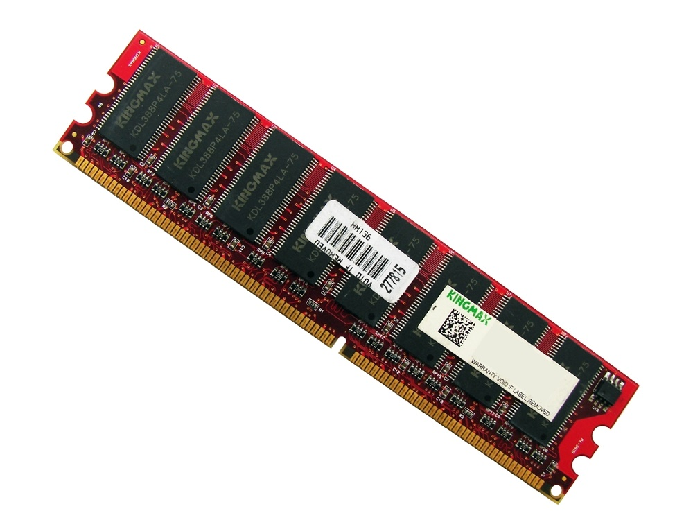 "Kingmax MPDC22D-38KT3R 512MB CL2.5"" 2Rx8 PC2100 266MHz DDR Memory Full Technical Specs and Reviews"