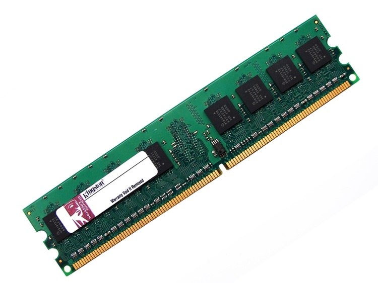 Kingston ACR128X64D2U800C6L 1GB CL6 800MHz PC2-6400 240-pin DIMM, Non-ECC DDR2 Desktop Memory Full Technical Specs and Reviews