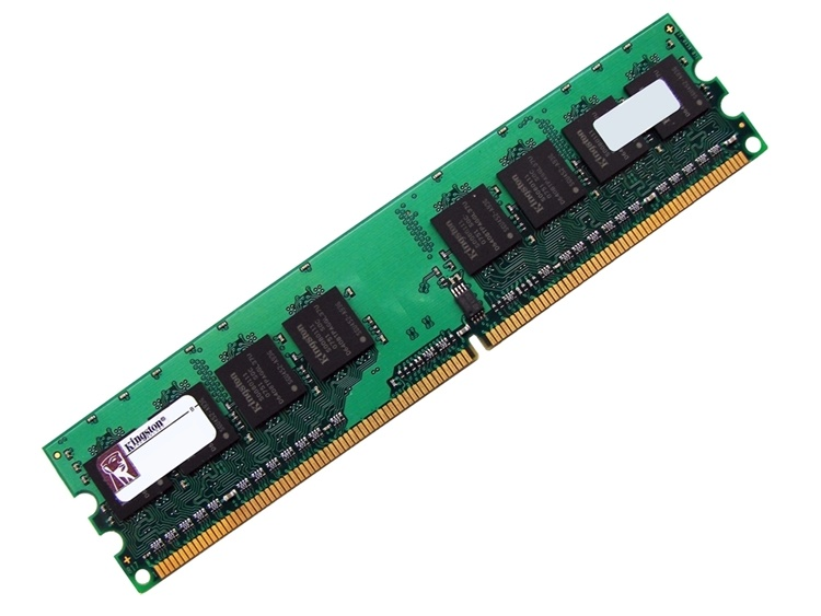 Kingston D12864G50 1GB CL5 800MHz PC2-6400 240-pin DIMM, Non-ECC DDR2 Desktop Memory Full Technical Specs and Reviews