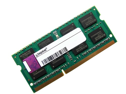 Kingston ACR256X64D3S1333C9 2GB 2Rx8 PC3-10600S-9-10-F0 1333MHz 204pin Laptop / Notebook SODIMM CL9 1.5V Non-ECC DDR3 Memory Full Technical Specs and Reviews (Green)