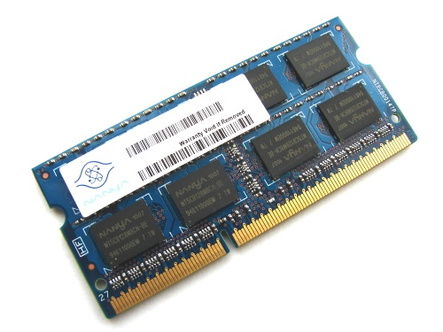 Nanya NT2GC64B8HC0NS-BE 2GB PC3-8500S-7-10-F2 2Rx8 1066MHz 204pin Laptop / Notebook SODIMM CL7 1.5V Non-ECC DDR3 Memory Full Technical Specs and Reviews