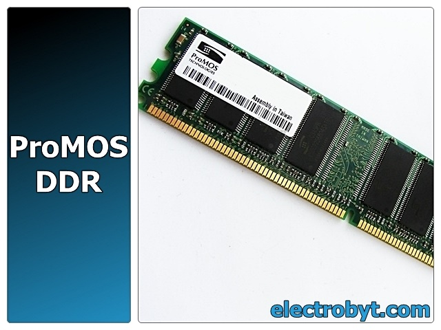 ProMOS V826616J24SATG-C0 PC2700U-25330 128MB PC2700 333MHz Desktop DDR Memory Full Technical Specs, Benchmarks and Reviews