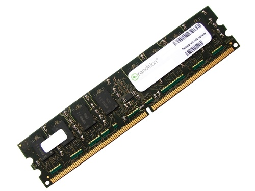 Rendition RM25664AA800 2GB 2Rx8 PC2-6400U 800MHz 240-pin DIMM, Non-ECC DDR2 Desktop Memory Full Technical Specs and Reviews