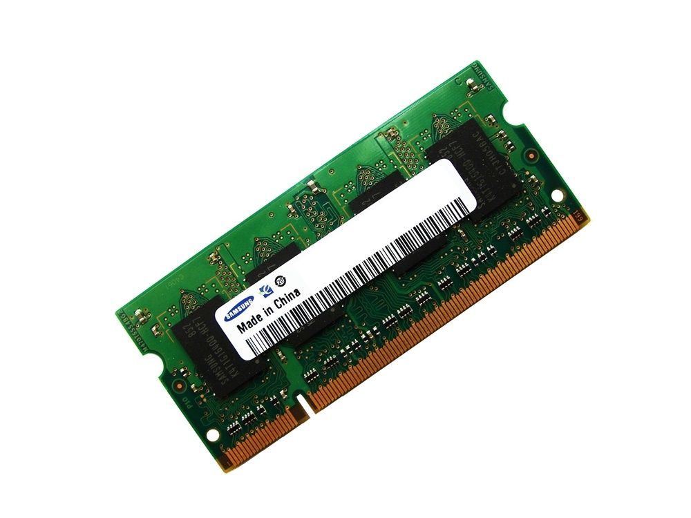 Samsung M470T2953BS0-CCC 1GB PC2-3200 400MHz 200pin Laptop / Notebook Non-ECC SODIMM CL3 1.8V DDR2 Memory Full Technical Specs and Reviews